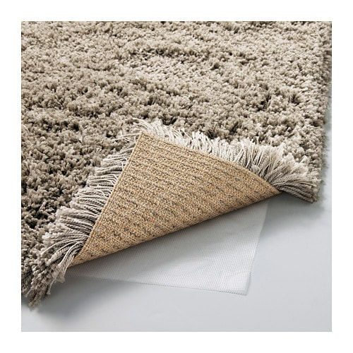 Carrelage Design tapis shaggy ikea : IKEA Gu00c5SER rug, high pile The high pile dampens sound and provides a ...