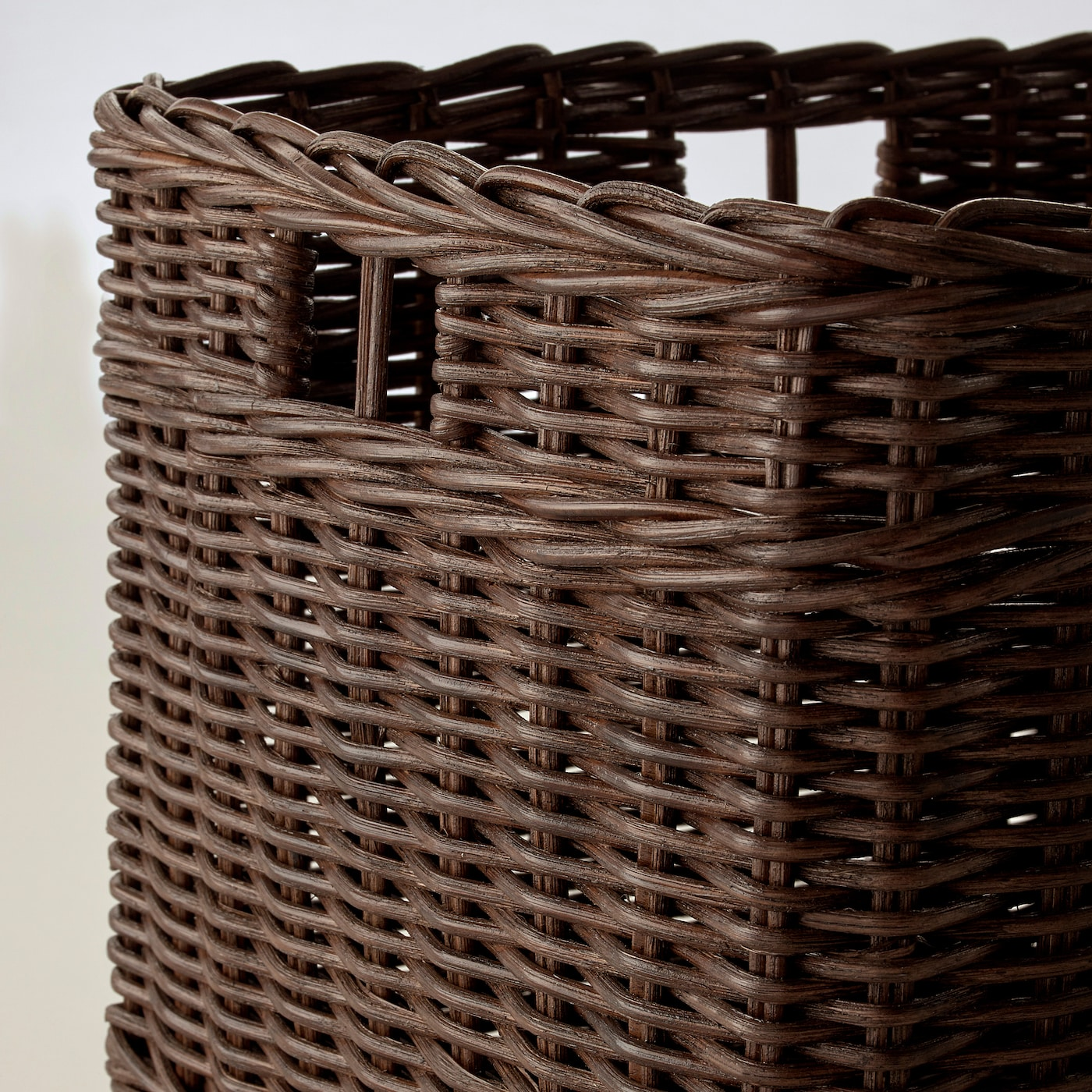 GABBIG dark brown, Basket, Width: 29 cm