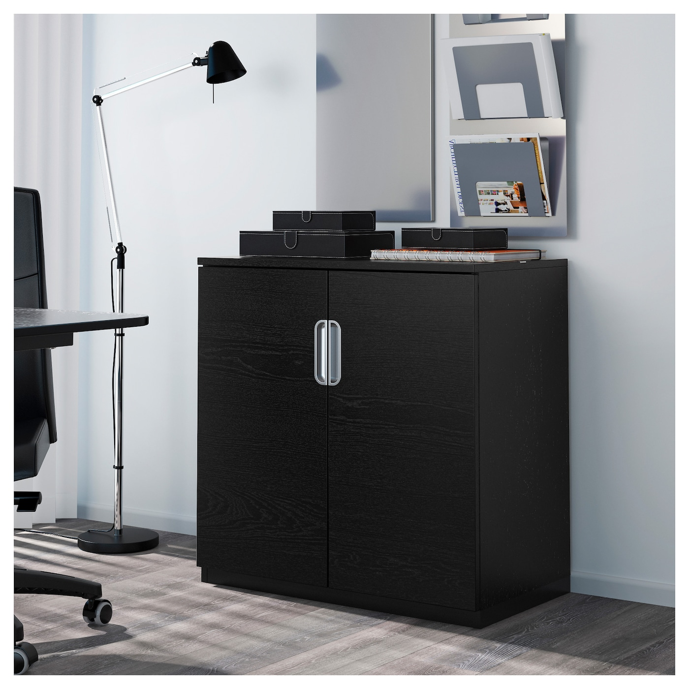 IKEA GALANT Cabinet With Doors 10 Year Guarantee. Read About The Terms In  The Guarantee