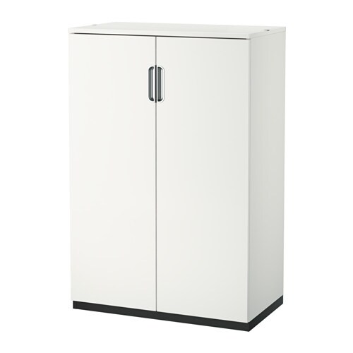 galant cabinet with doors white 80x120 cm ikea. Black Bedroom Furniture Sets. Home Design Ideas
