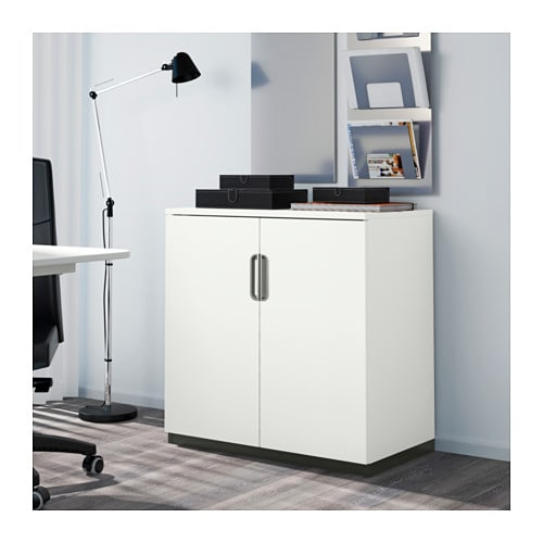 galant cabinet with doors white 80x80 cm ikea