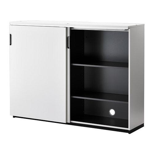 GALANT Cabinet With Sliding Doors White 160x120 Cm