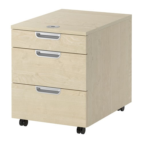 GALANT Drawer unit on castors IKEA 10 year guarantee.   Read about the terms in the guarantee brochure.