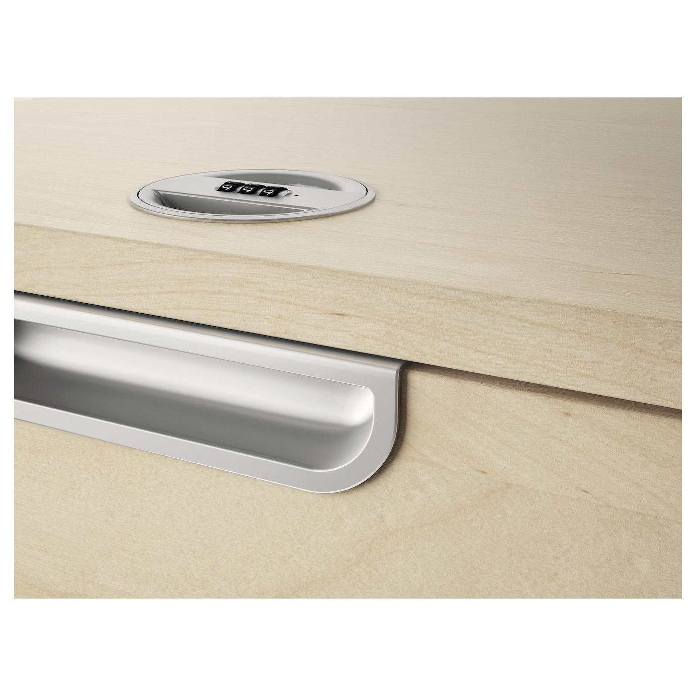 model series with keylocks desk units height locks drawer goldline fenco down sit