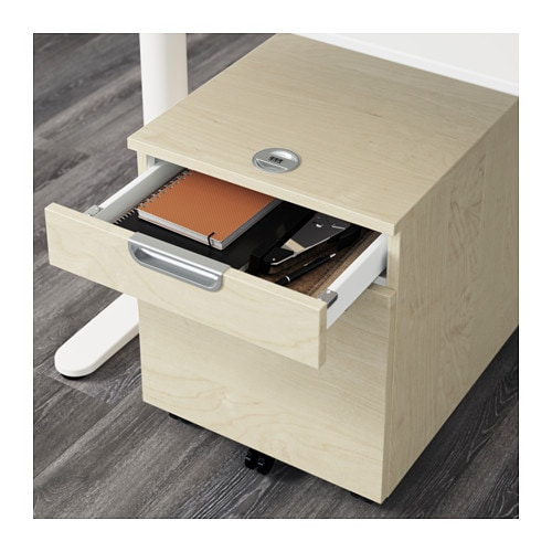 galant drawer unit with drop file storage birch veneer 45x55 cm ikea. Black Bedroom Furniture Sets. Home Design Ideas