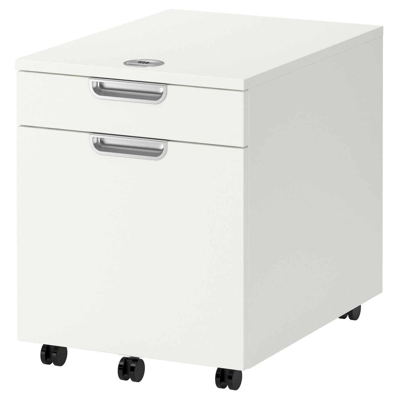 GALANT Drawer unit with drop-file storage White 45 x 55 cm ...