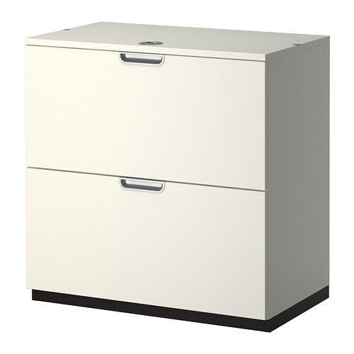 galant drawer unit with drop file storage white 80x80 cm. Black Bedroom Furniture Sets. Home Design Ideas