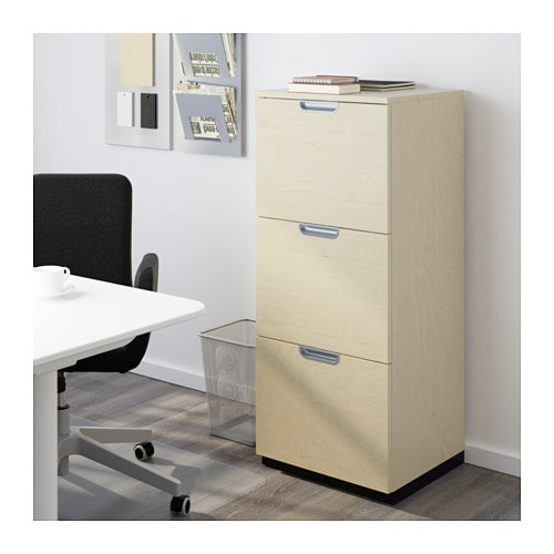 ikea galant locking file cabinet. Black Bedroom Furniture Sets. Home Design Ideas