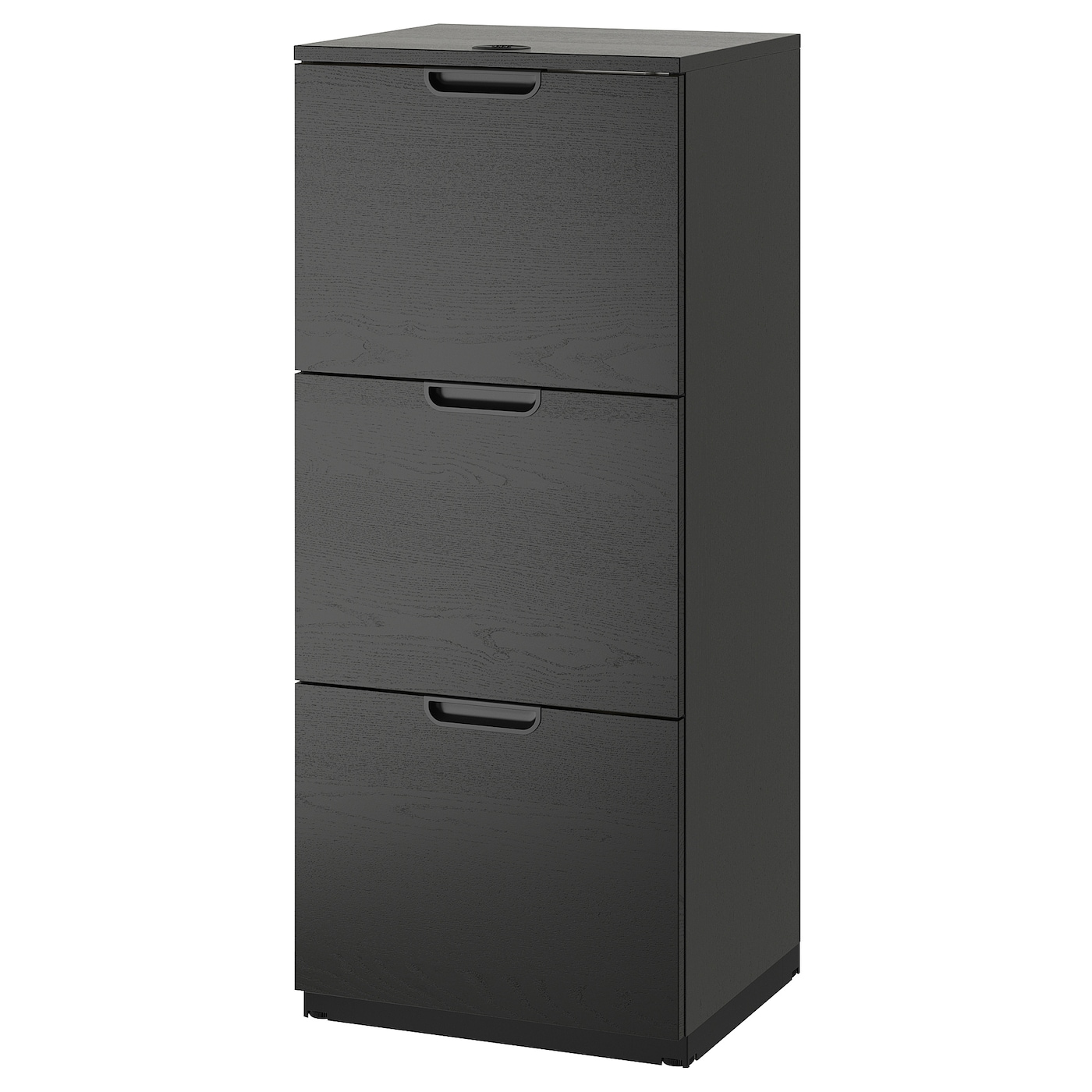 galant file cabinet black stained ash veneer 51 x 120 cm ikea rh ikea com 2004 Galant File Cabinet IKEA IKEA Galant File Cabinet Rolling