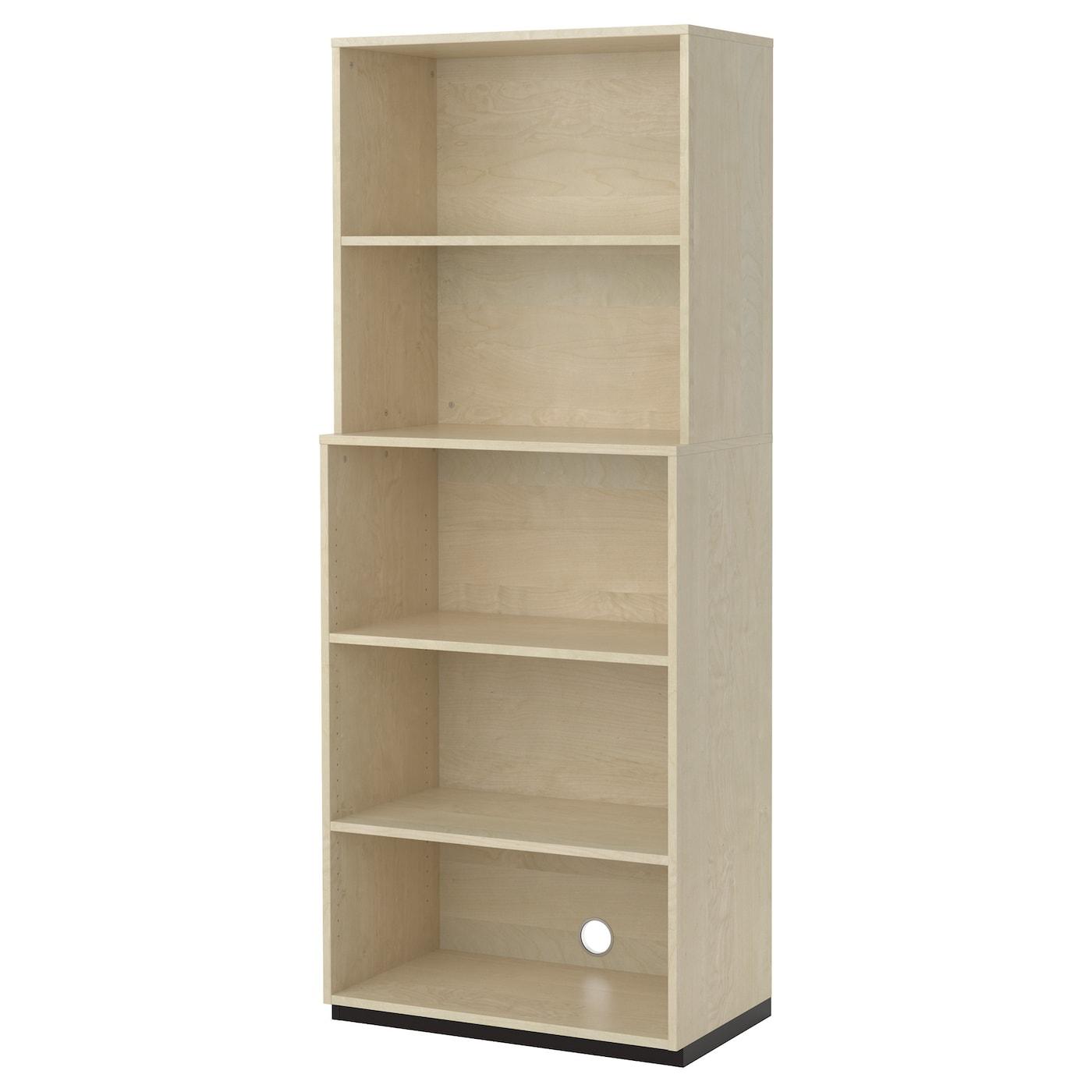 galant open storage combination birch veneer 80x200 cm ikea. Black Bedroom Furniture Sets. Home Design Ideas