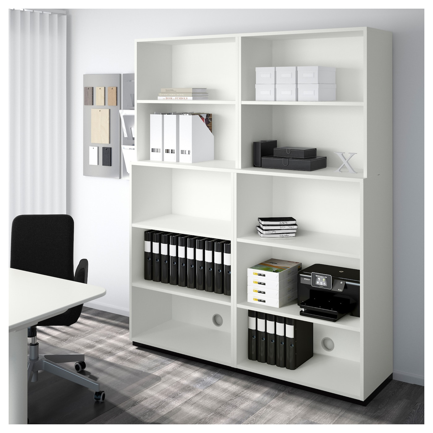 galant open storage combination white 160x200 cm ikea. Black Bedroom Furniture Sets. Home Design Ideas
