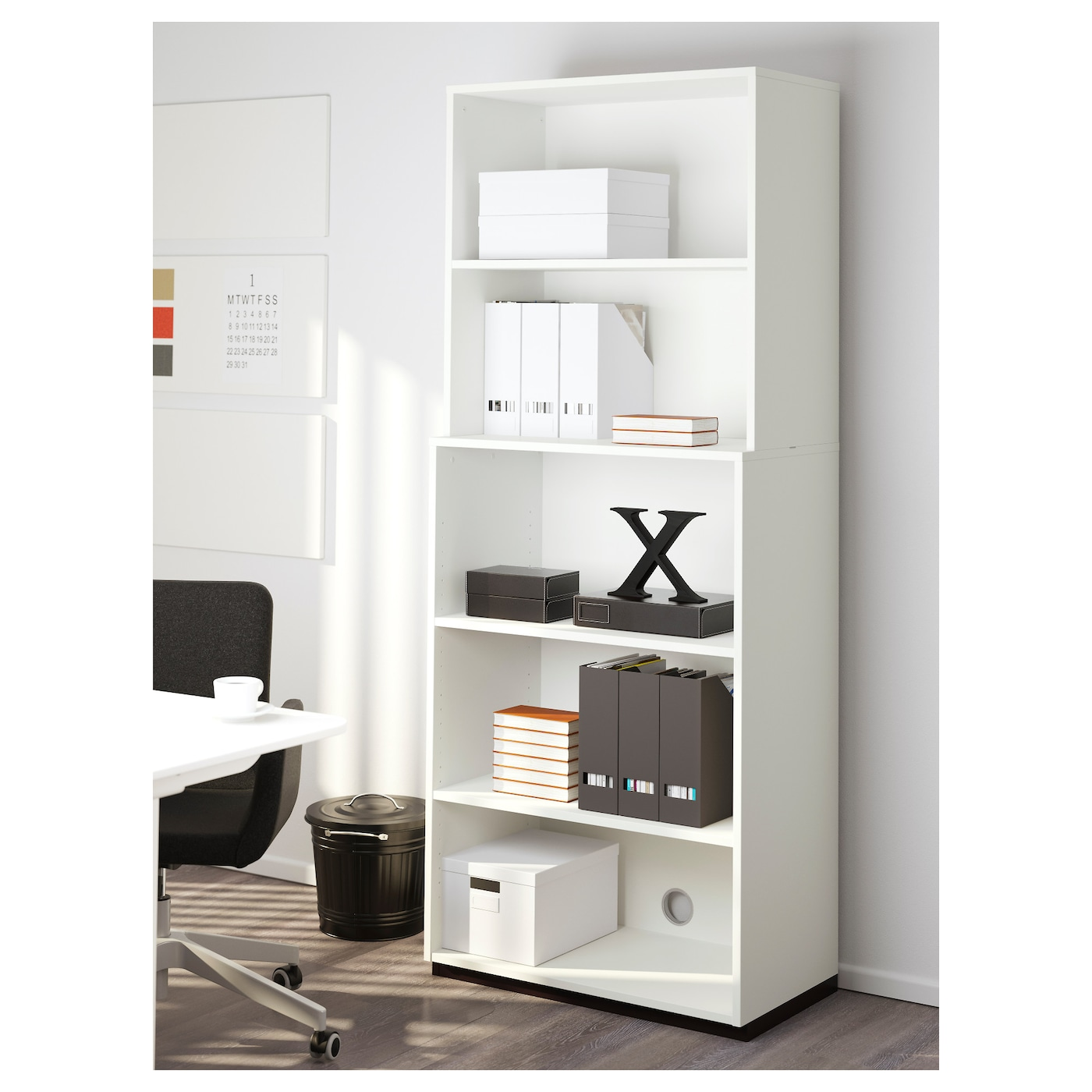 galant open storage combination white 80x200 cm ikea. Black Bedroom Furniture Sets. Home Design Ideas