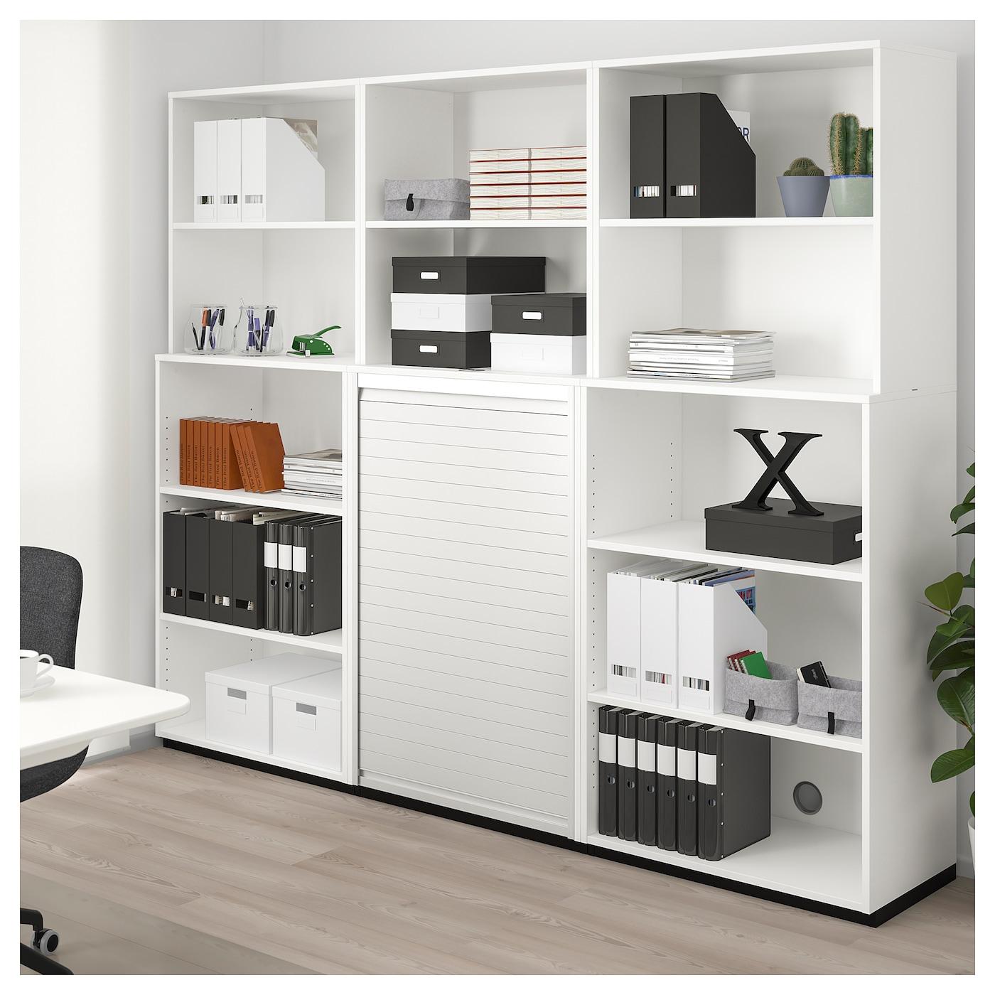 galant open storage combination white 160x200 cm ikea. Black Bedroom Furniture Sets. Home Design Ideas