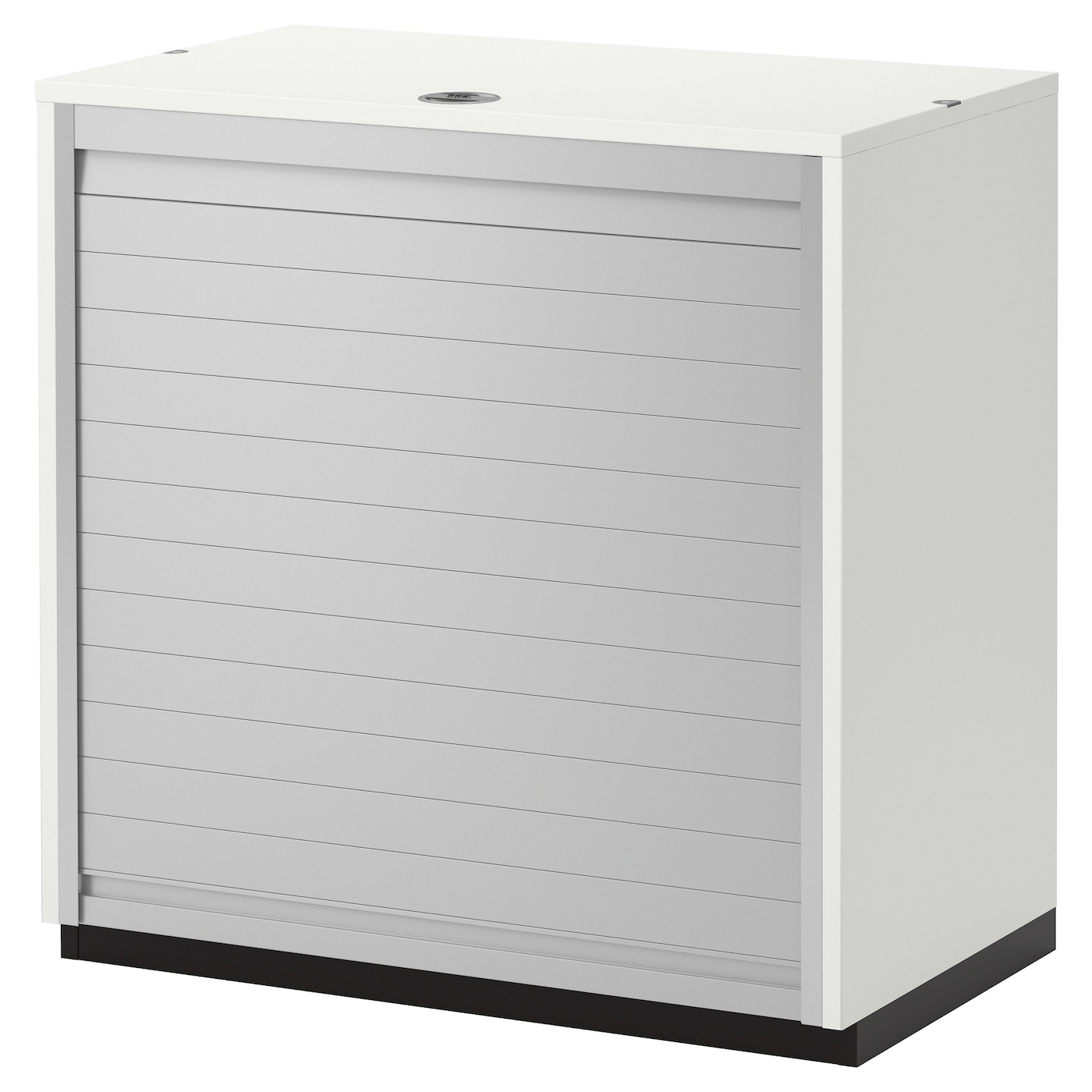 Galant Roll Front Cabinet White 80x80 Cm Ikea
