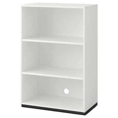GALANT Shelf unit, white, 80x120 cm