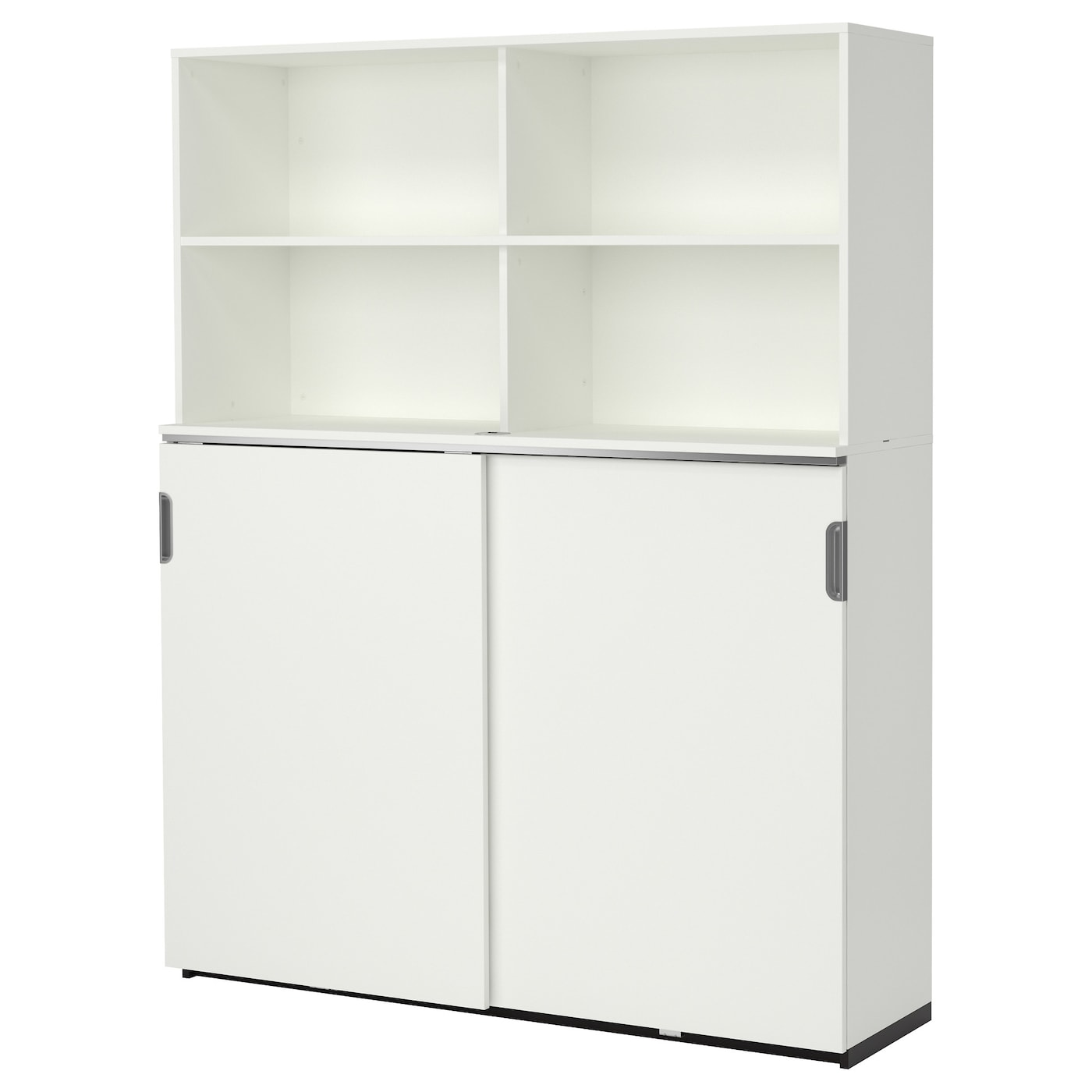 galant storage combination w sliding doors white 160x200. Black Bedroom Furniture Sets. Home Design Ideas