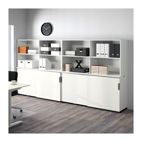 galant storage combination w sliding doors white 320x160 cm ikea. Black Bedroom Furniture Sets. Home Design Ideas