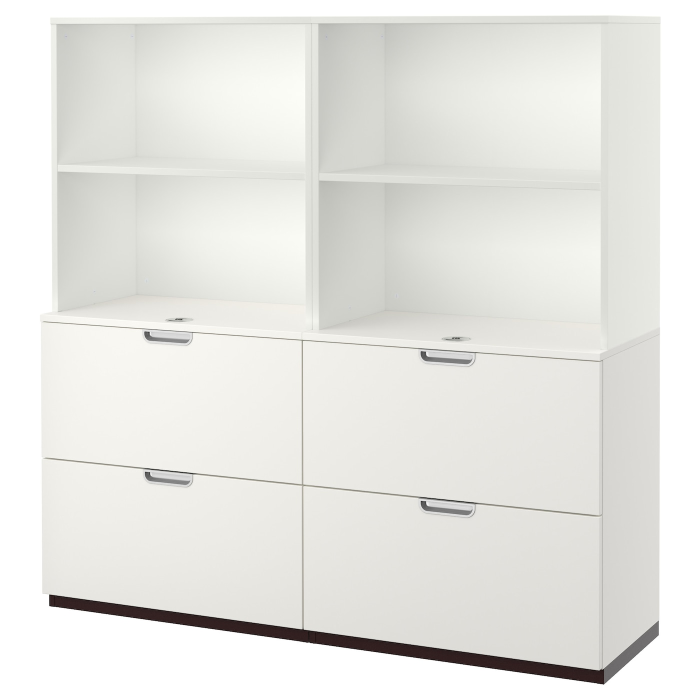 galant storage combination with filing white 160x160 cm ikea. Black Bedroom Furniture Sets. Home Design Ideas