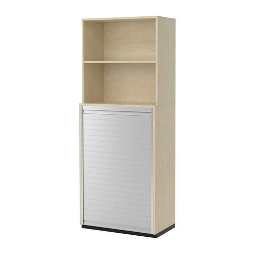GALANT Storage combination with roll-front IKEA 10 year guarantee.   Read about the terms in the guarantee brochure.