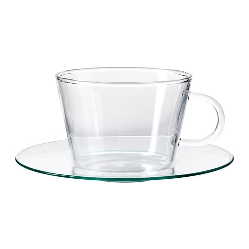 GÄLL Cup with saucer IKEA