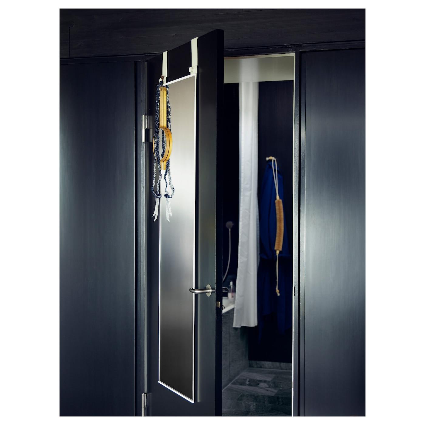 garnes over the door mirror white 38x155 cm ikea. Black Bedroom Furniture Sets. Home Design Ideas