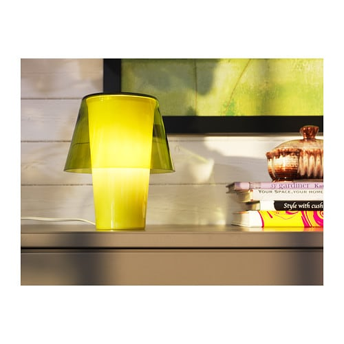 gavik table lamp green frosted glass ikea. Black Bedroom Furniture Sets. Home Design Ideas