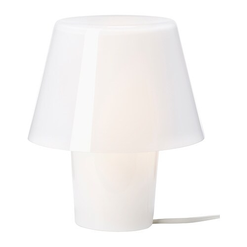 gavik table lamp white frosted glass ikea. Black Bedroom Furniture Sets. Home Design Ideas