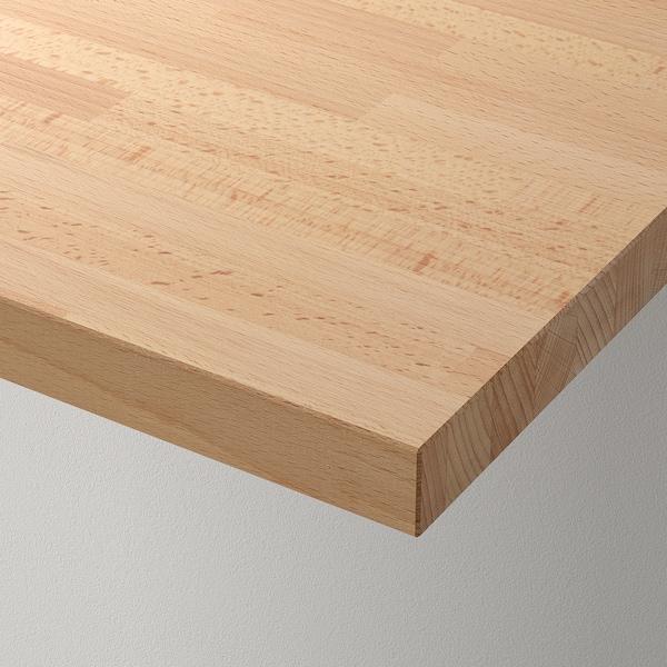 GERTON Table top, beech, 155x75 cm