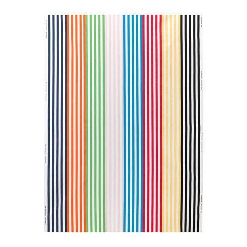 gitmaj fabric stripe multicolour 150 cm ikea. Black Bedroom Furniture Sets. Home Design Ideas