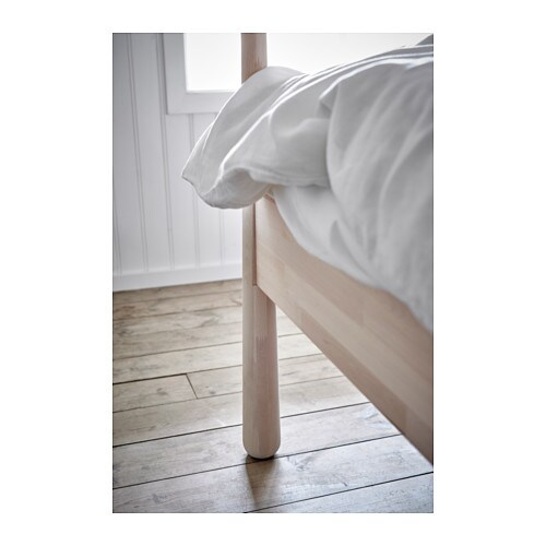 ikea gj ra bed frame adjustable bed sides allow you to use mattresses