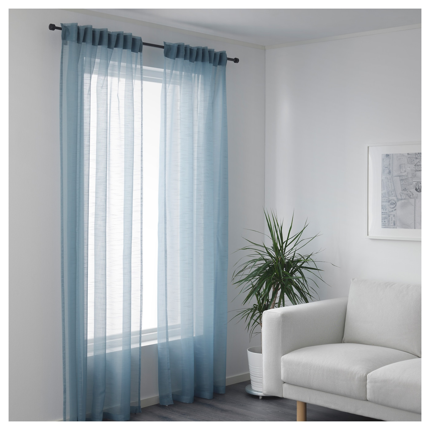 blue curtains walmart ombre long at full panel essence pair of image sheer inspirations semi awesome outdoor size grommet curtain panels