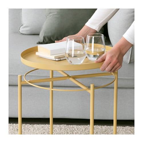 trendy gladom tray table light yellow x cm ikea table lit ordinateur ikea with plateau lit ikea. Black Bedroom Furniture Sets. Home Design Ideas