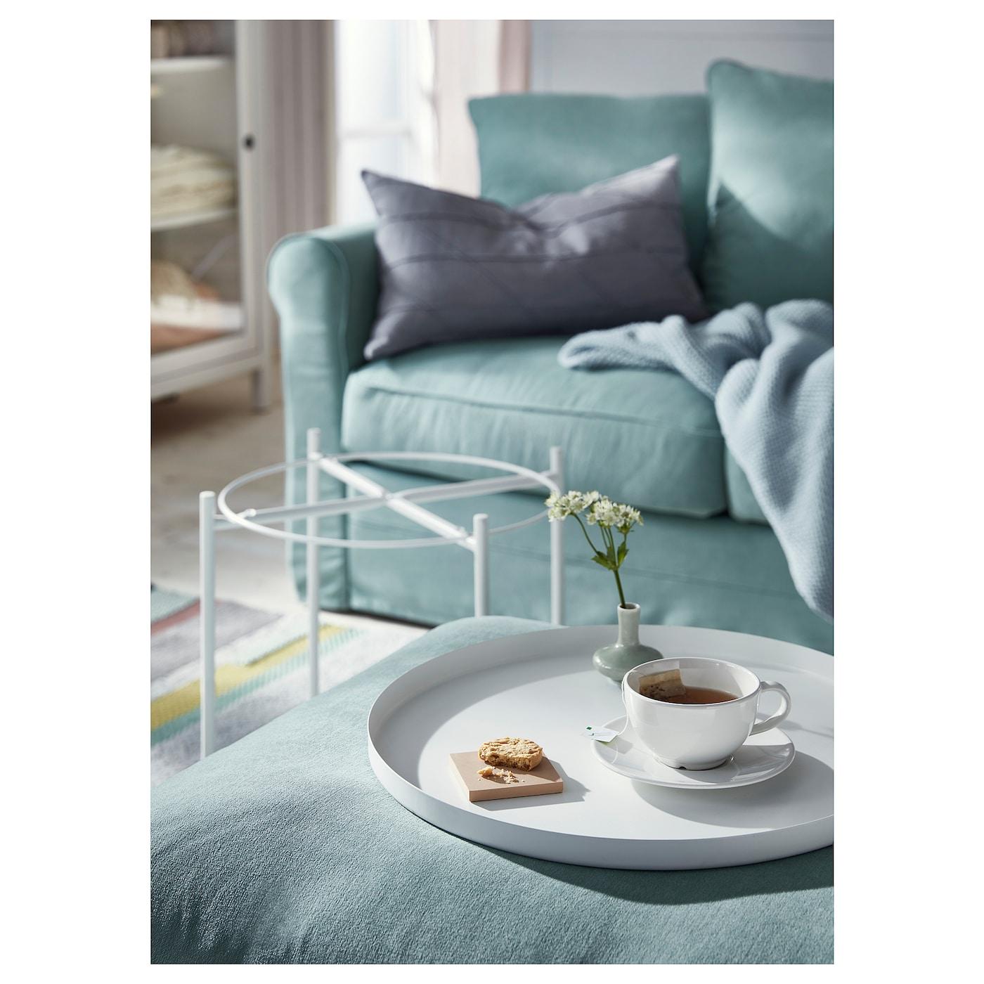 GLADOM Tray table, green, 45x53 cm IKEA