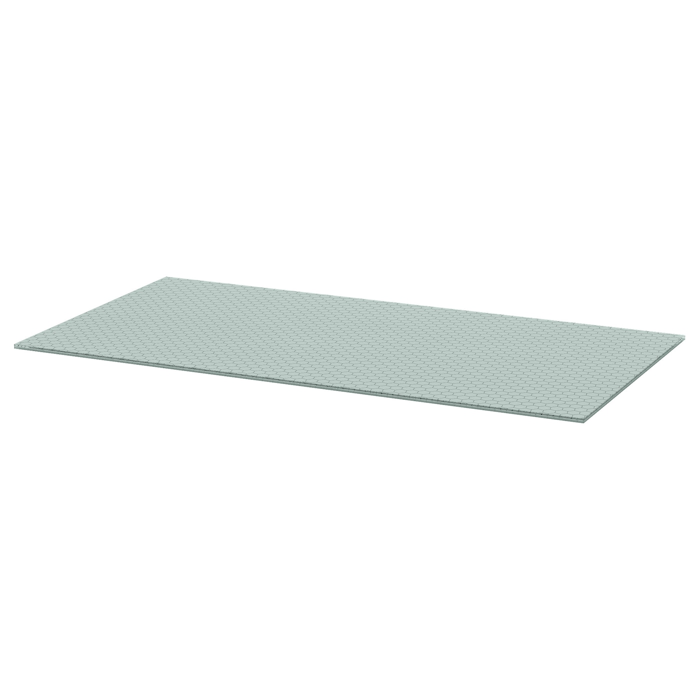IKEA GLASHOLM table top The table top in tempered glass is stain resistant  and easy to