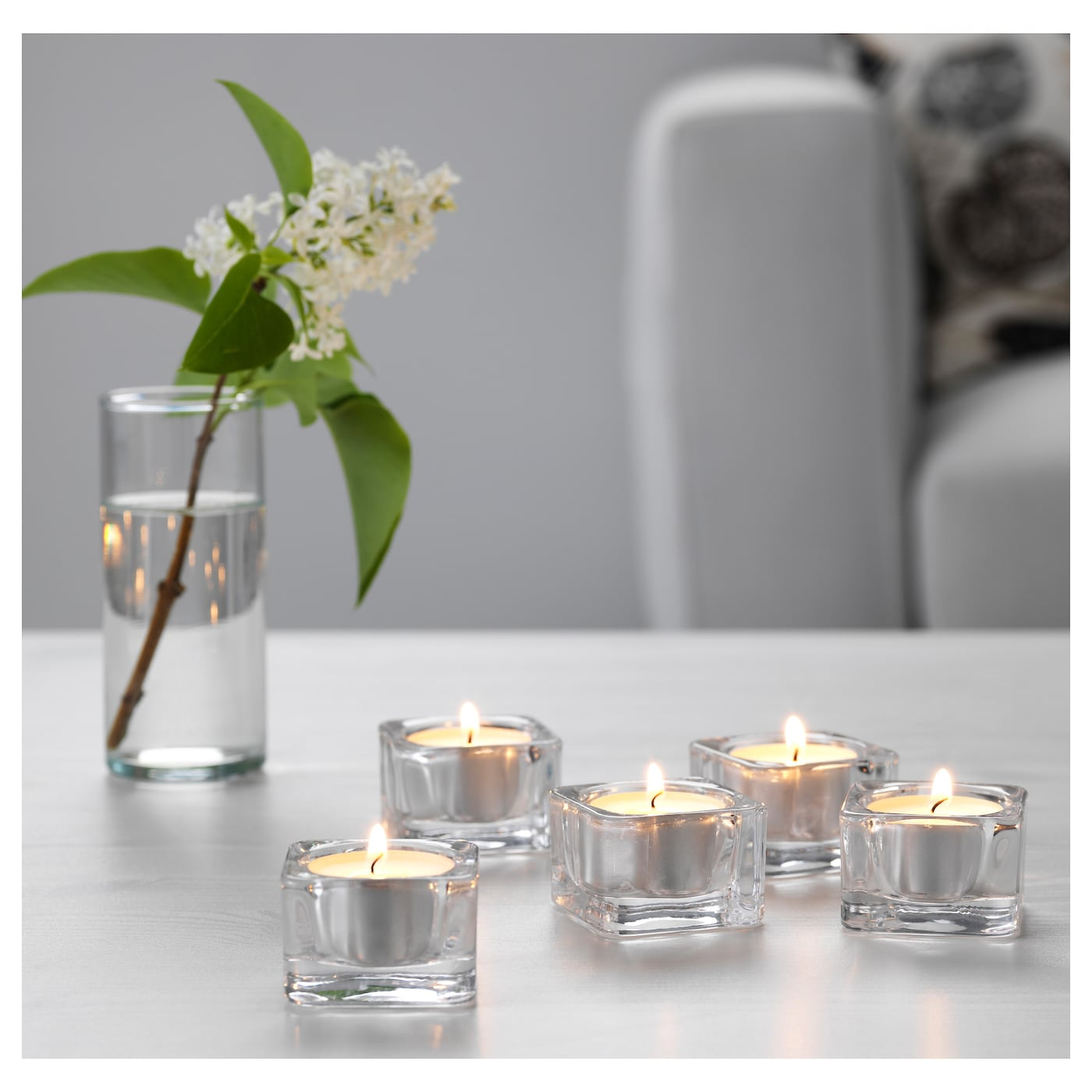 IKEA GLASIG tealight holder