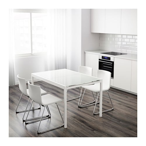 glivarp extendable table white 125 188x85 cm ikea. Black Bedroom Furniture Sets. Home Design Ideas