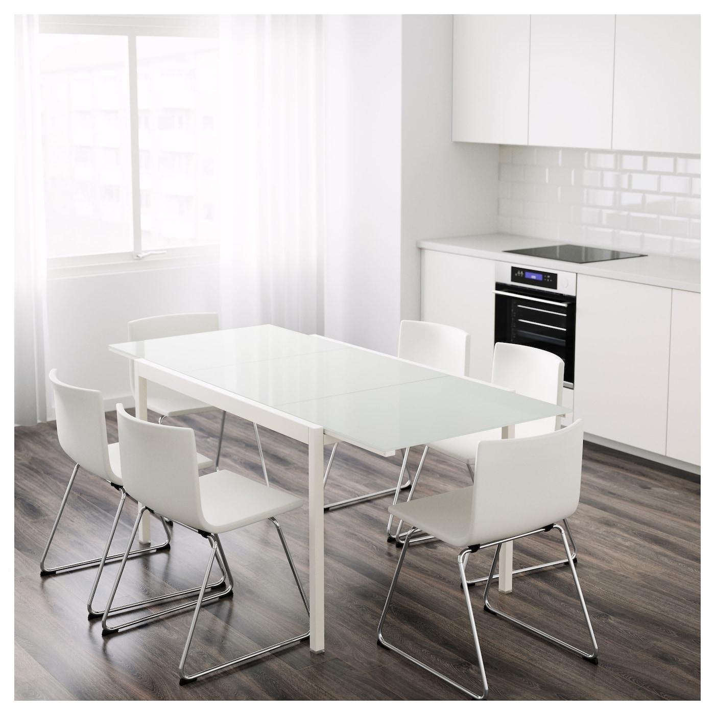glivarp extendable table white 125 188 x 85 cm ikea. Black Bedroom Furniture Sets. Home Design Ideas