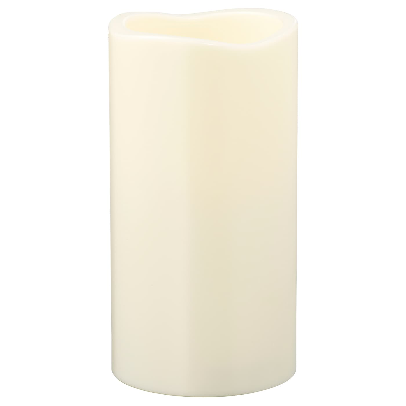 IKEA GODAFTON LED block candle, in/outdoor