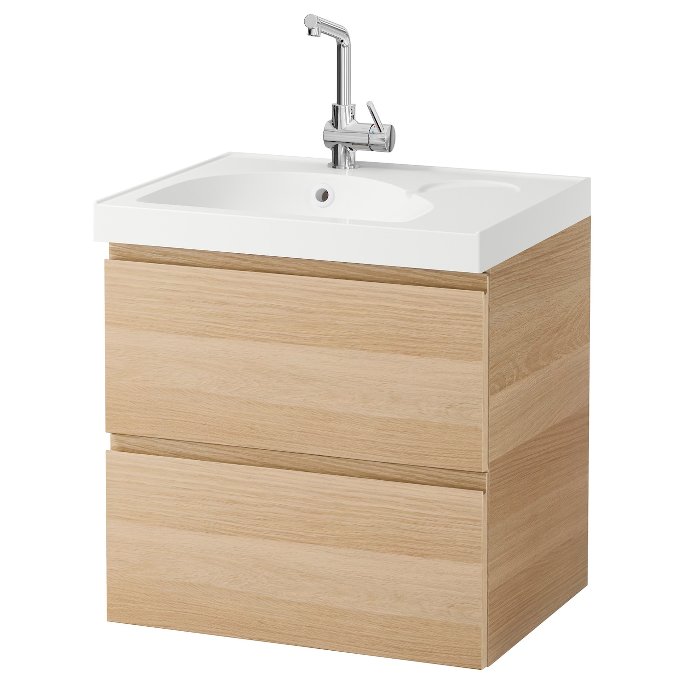 godmorgon edeboviken wash stand with 2 drawers white