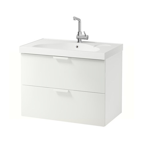 IKEA GODMORGON/EDEBOVIKEN wash-stand with 2 drawers