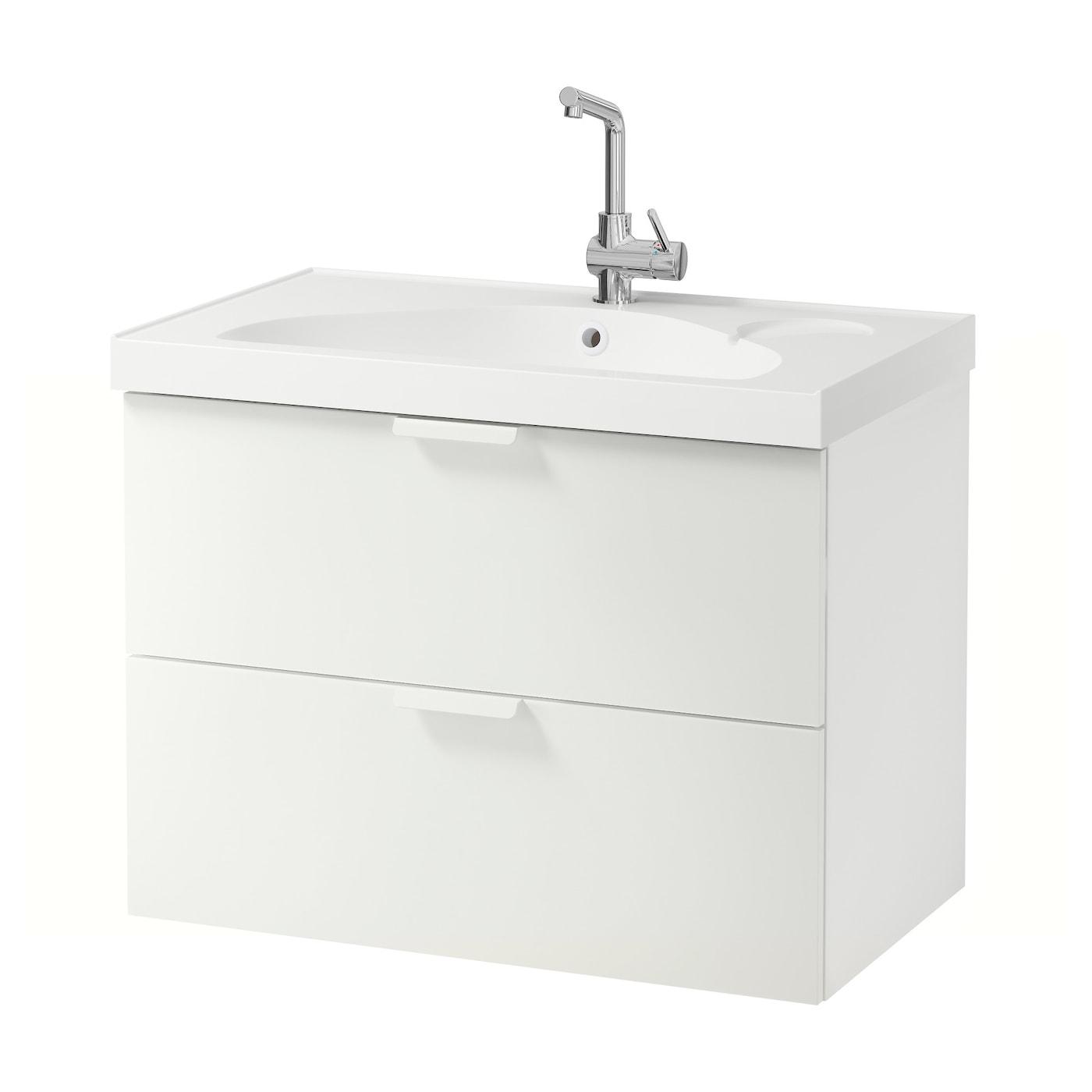 godmorgon edeboviken wash stand with 2 drawers white. Black Bedroom Furniture Sets. Home Design Ideas