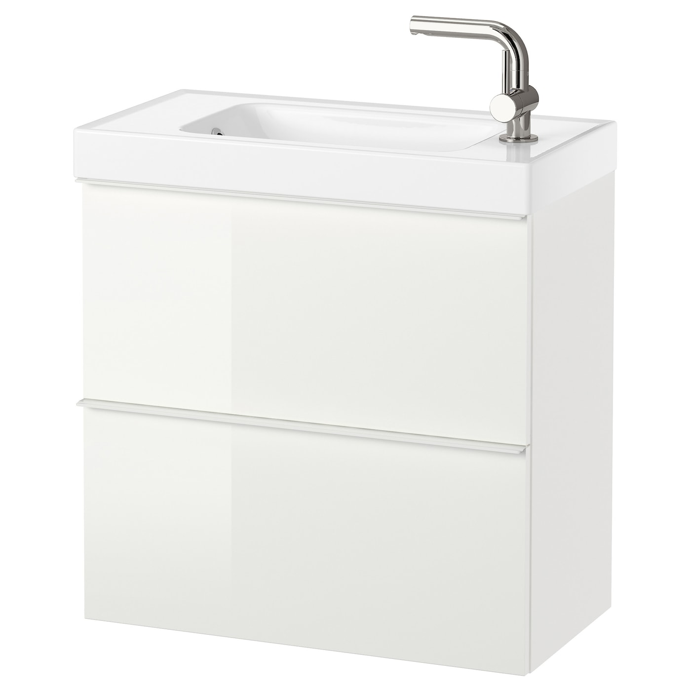IKEA GODMORGON/HAGAVIKEN wash-stand with 2 drawers