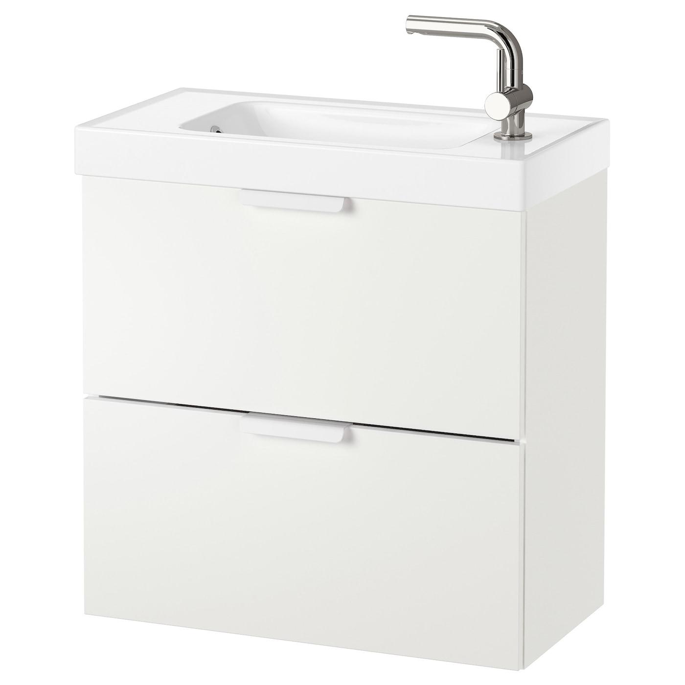 godmorgon hagaviken wash stand with 2 drawers white 62 x 34 x 65 cm ikea. Black Bedroom Furniture Sets. Home Design Ideas