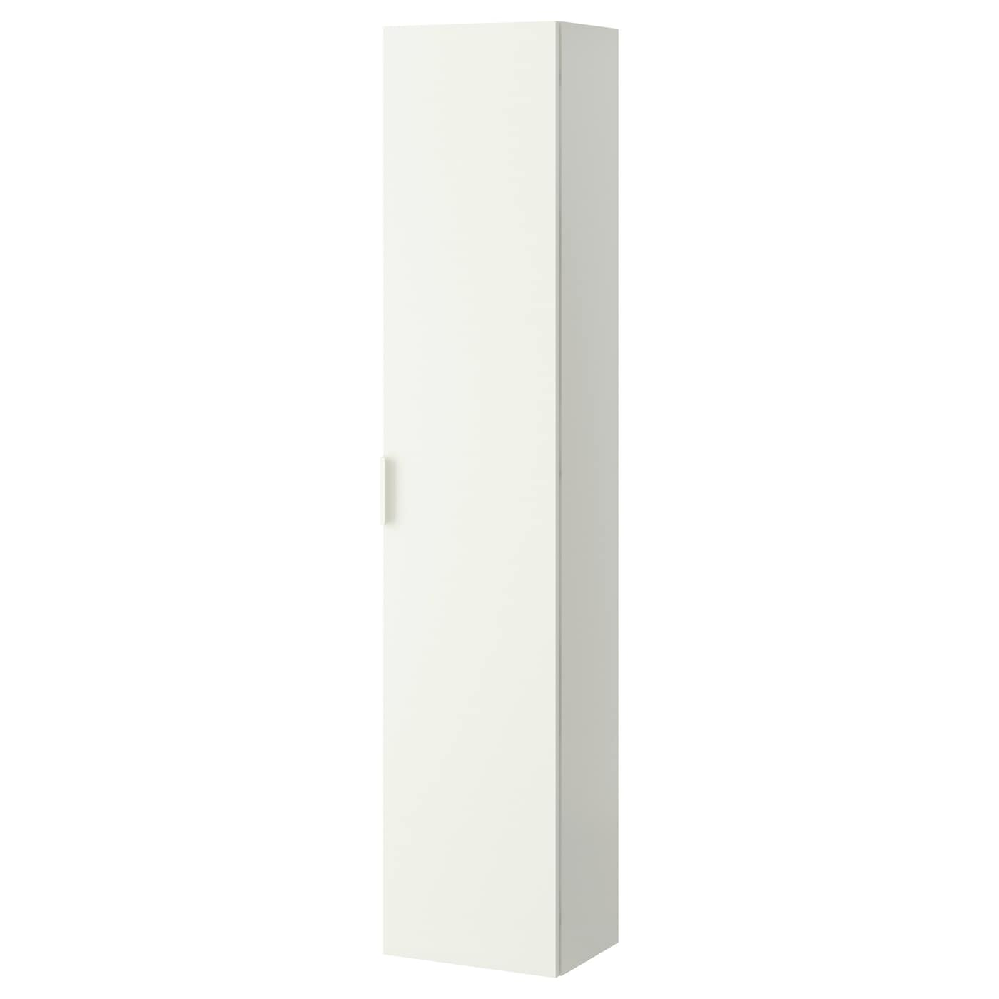Godmorgon high cabinet white 40x30x192 cm ikea for Colonne salle de bain ikea