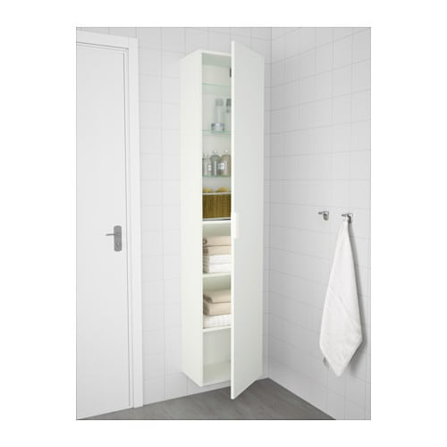 godmorgon high cabinet white 40x32x192 cm ikea. Black Bedroom Furniture Sets. Home Design Ideas
