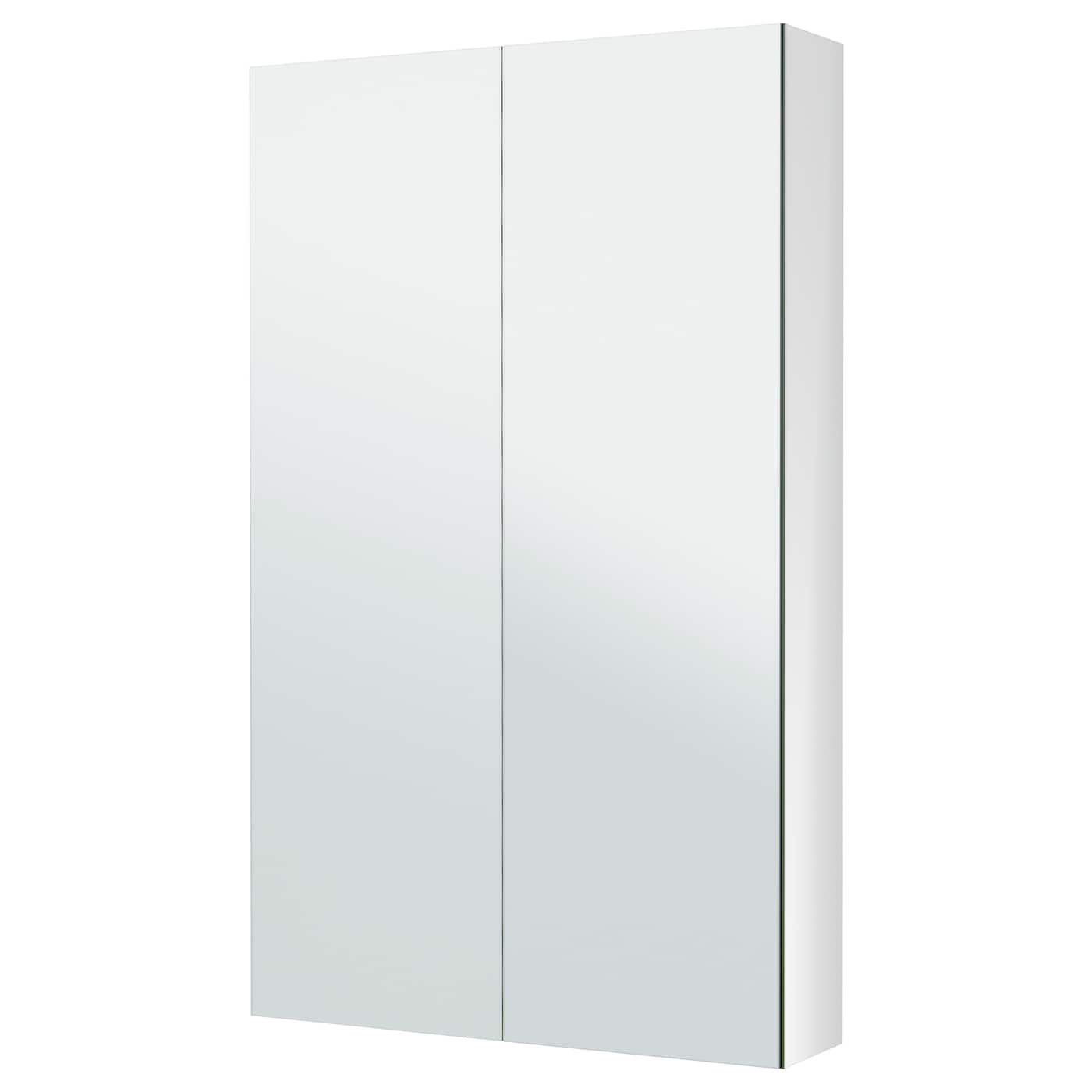ikea godmorgon mirror cabinet with 2 doors mirror both on the outside and the inside