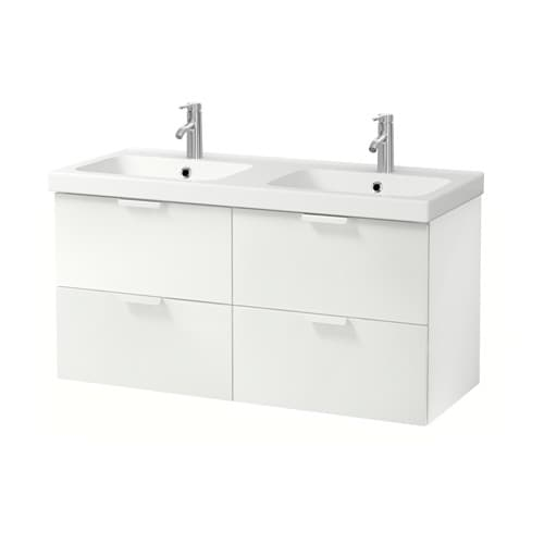 IKEA GODMORGON/ODENSVIK wash-stand with 4 drawers
