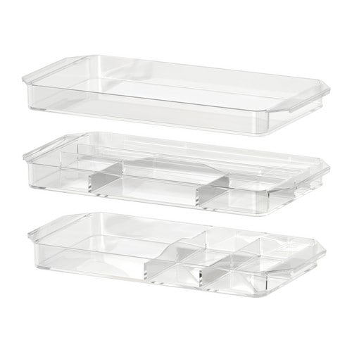 GODMORGON Storage unit, set of 3 IKEA 10 year guarantee Read about