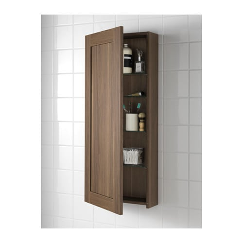 Ikea Kitchen Wall Storage: GODMORGON Wall Cabinet With 1 Door Walnut Effect 40x14x96
