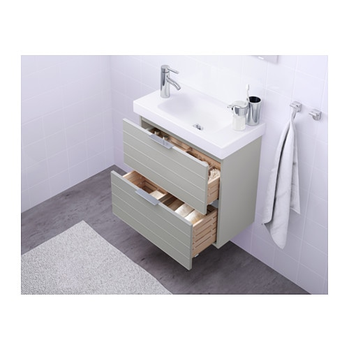 Ikea Godmorgon Storage Unit ~ IKEA GODMORGON wash stand with 2 drawers Smooth running and soft